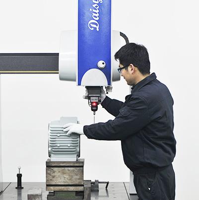 电机壳精密检测