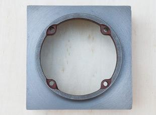 铸铁电机壳防爆电机80接线盒座电机外壳配件