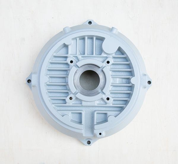 铸铁电机壳高能效电机160后端盖电机外壳配件