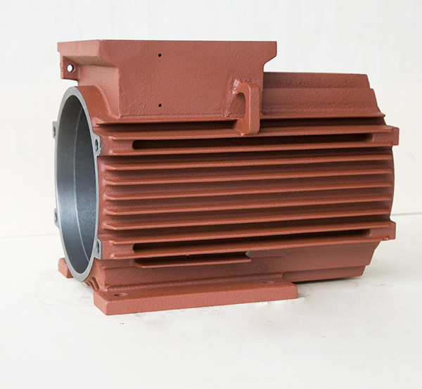 铸铁电机壳防爆电机加长100顶机机座外壳