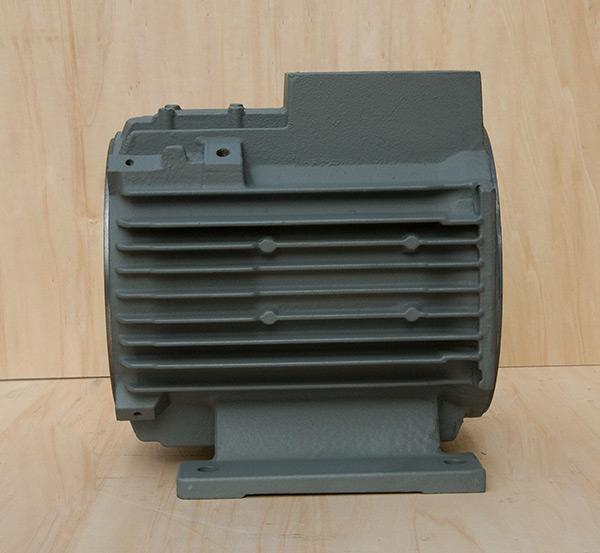 铸铁电机壳高能效电机112顶机机座外壳