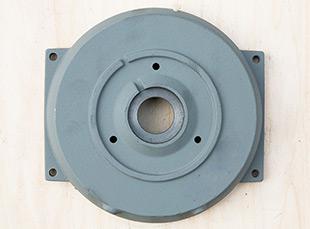 铸铁电机壳高能效电机100前端盖电机外壳配件