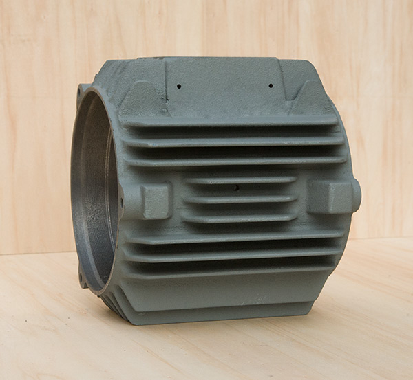 铸铁电机壳常规电机80立机机座外壳