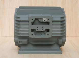 铸铁电机壳常规电机100旁机机座外壳