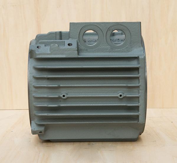 铸铁电机壳高能效电机90立机机座外壳